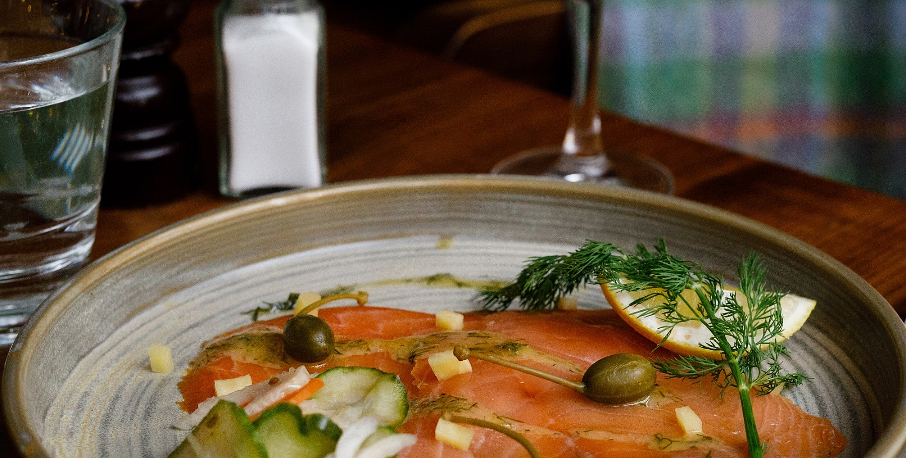 Hederman's Smoked Salmon at the Farmgate Cafe in the English Market, Cork city Photo: Clare O'Rourke