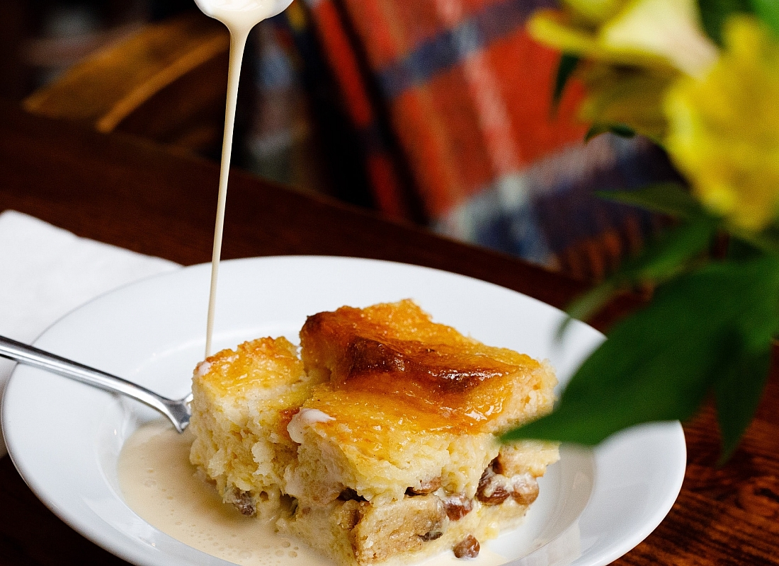 Bread and Butter Pudding at the Farmgate Cafe in the English Market. Photo: Clare O'Rourke