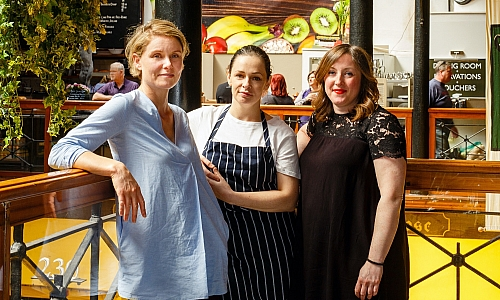 Rebecca Harte, Pamela Kelly, Ruth Feely – Farmgate Cafe Cork