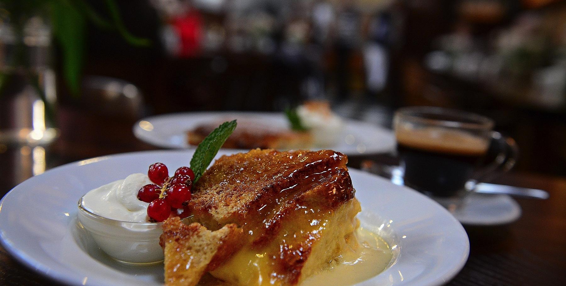 Pudding at The Farmgate Cafe Cork. Photo Clare O'Rourke